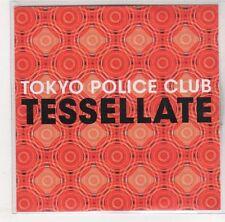 (EJ206) Tokyo Police Club, Tessellate - 2008 DJ CD