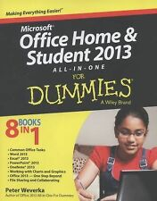 Microsoft Office Home and Student 2013 All-in-One for Dummies® by Peter...