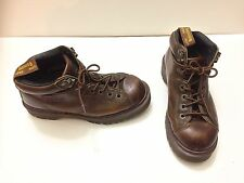 Doc Martens Brown Leather Boots Air Wair with Bouncing Soles Hiking Size 6