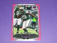 2014 Topps BILAL POWELL #279 Pink Variant/499 New York JETS Louisville CARDINALS