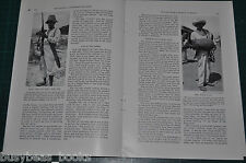 1934 magazine article, TRAVELS WITH A DONKEY IN MEXICO, natives, customs etc