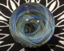 25 MM Cosmic Chaos Vortex Hand Made Contemporary Borosilicate Art Glass Marble