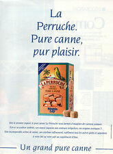 Publicité 1996  Sucre LA PERRUCHE pure canne Béghin Say
