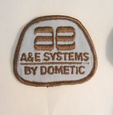 "A&E Systems Patch - 2 1/2"" x 2""  - vintage"