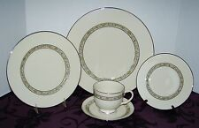 LENOX CHINA USA SPRINGDALE 5-PC PLACE SETTING ~ 12 AVAILABLE ~ EXCELLENT ELEGANT
