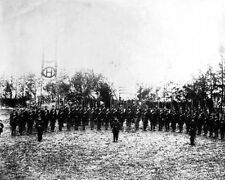 New 8x10 Civil War Photo: Soldiers of the 6th Vermont Infantry at Camp Griffin
