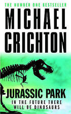 Jurassic Park, By Michael Crichton,in Used but Acceptable condition