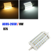 R7S Dimmable LED Bulb 8W 118MM SMD 2835 48 Pure White/Warm White Corn Light Lamp