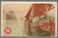 [53405] OLD CASSIERS POSTCARD RED STAR LINE H-3