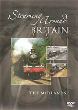Steaming Around Britain - The Midlands (DVD 2006) FREE UK POST