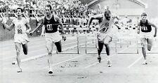 1959 Wire Photo Russian decathlete Vasili Kuznetsov win 110 meters hurdles in PA
