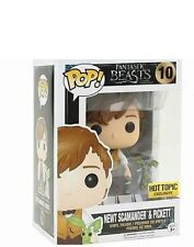 Funko POP Fantastic Beasts Newt Scamander & Pickett  #10