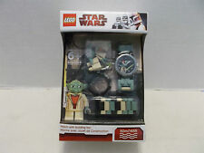 Lego #9002069 Star Wars Yoda Watch With Building Toy Rare Hard To Find NIB 2010!