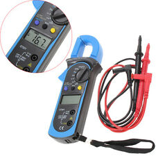 Digital Clamp Multimeter OHM Amp Meter AC/DC Current Voltage Resistance Tester