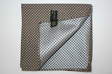 Nino Danieli by Corneliani Mens Silk Pocket Square Handkerchief Gitf For Him NWT