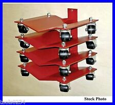New Auto Dolly Merrick M998071 Wall Mount Rack for Heavy Duty Wheel Dollies USA