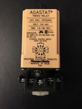 Agastat Timing Relay SST22ADA 120V.  Exc Cond w/base