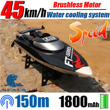 New!RC Racing Boat FT012 4CH Brushless Motor Water Cooling High Speed Racing