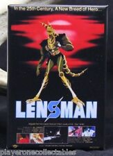 "Lensman Movie Poster 2"" x 3"" Fridge / Locker Magnet. Anime"