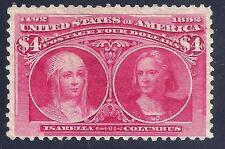 U.S. 244 Mint FVF SCV$2,100.00 (244-35)
