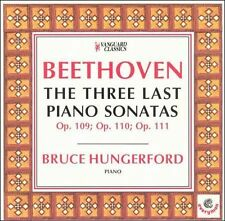 BRUCE HUNGERFORD - Beethoven The Three Last Piano Sonatas CD Like New / Mint