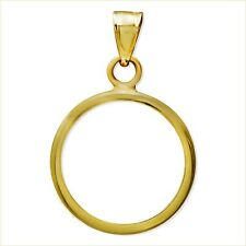 14~KT GOLD ~ 1/4~GOLD  PANDA ~ BEZEL WITH  BALE ~ 22~MM ~ BUY IT NOW ! ~ $74.88