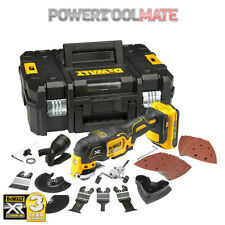 DeWalt DCS355D1 18V XR Oscillating Multi Tool + 35 Accessories Kit + TStak Case