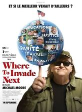 Affiche 120x160cm WHERE TO INVADE NEXT (2016) Michael Moore - Documentaire NEUVE