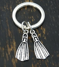 Diver Keychain, Diver Key Chain, Diver Pendant, Diver Jewelry, Scuba Diver