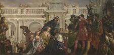 The Family of Darius before Alexander Paolo Veronese Italien Adel B A3 02964
