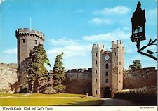 B99811 warwick castle clock and guy s tower   uk