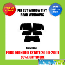 FORD MONDEO ESTATE 2000-2007 35% LIGHT REAR PRE CUT WINDOW TINT