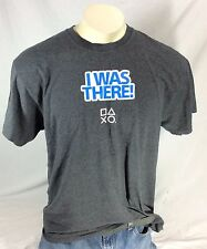 Official Sony Playstation Experience  T-Shirt PSX PS4 Las Vegas Nevada 2014 XL