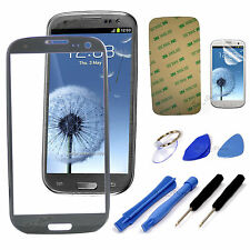 Grey Replacement LCD Screen Glass Lens Samsung Galaxy S3 i9300 I747 T999 NEW