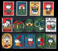 Japan 2779-82 + 2783a-j Letter Writing Day 2001 [14 USED Stamps]
