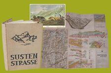 Sustenstrasse La strada del passo di Susten Post Berna 1945 Canton Uri Alpi