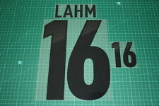 Germany 12/14 #16 LAHM Homekit Nameset Printing