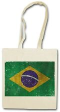 Brasil BANDERA HIPSTER BAG - Bolsa de tela Bolso De Tela Yute - Brasil