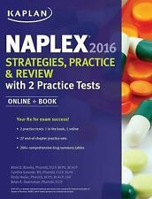 NEW Naplex 2016 Strategies, Practice, and Review with 2 Practice Tests: Online +