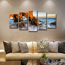 Framed Painting Pictures Canvas Print Home Decor Wall Art Landscape Sea Rock
