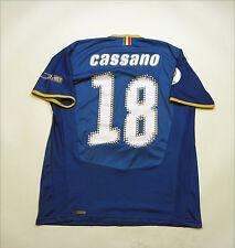 Italy 2007 / 2008 Home Kit Jersey Shirt Camiseta Maglia #18 Cassano  Euro 2008