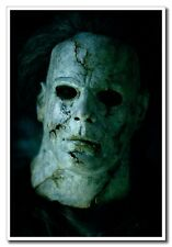 "Halloween Michael Myers Horror Face 24""x16"" Wall Silk Poster Old Classic Movie"