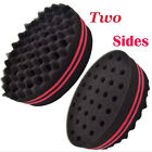 Wave Barber Hair Brush Sponge For Dreads Afro Locs Twist Curl Coil Magic Tool `