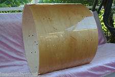 "SONOR FORCE 3007 22"" NATURAL MAPLE REPLACEMENT BASS DRUM SHELL for YOUR SET H607"