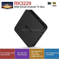 MX4 RK3229 Smart TV BOX Quad Core Android 6.0 WIFI Display 4K Video Player N1U7