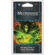Android Netrunner - LCG Democracy & Dogma Data Pack NEW Fantasy Flight Games
