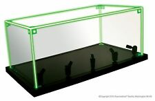 Lighted Acrylic Display Cube Color changing Edges and white spot lights