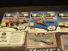 Desert storm Troops cards Series 1 armor weapoms troops aircraft 1991 4 packages