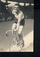 EMILE LOGNAY cyclisme ciclismo Photo Signée champion de France 1950 cycles C.N.C
