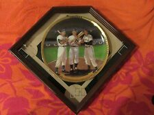 Sports Impressions Greatest Centerfielders Snider, Mantle & Mays COA 1987 - New